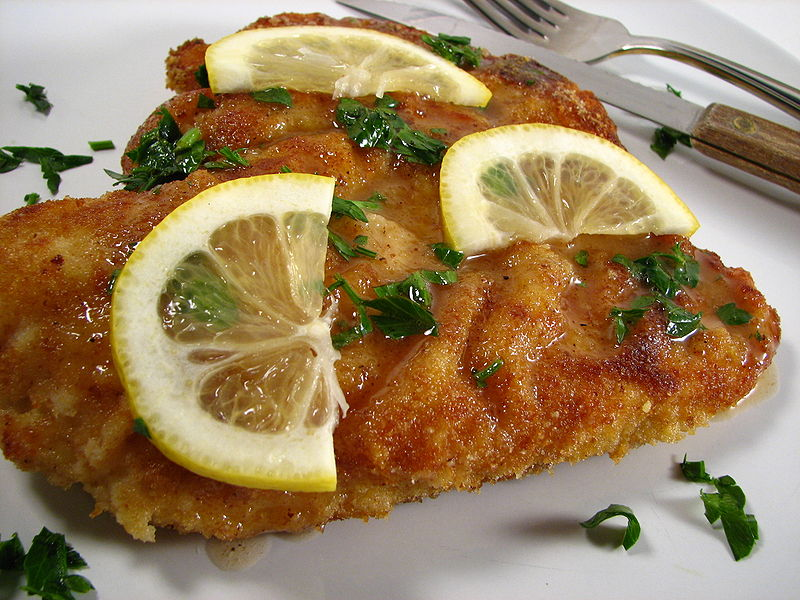 Chicken Piccata, with Fried Capers | Cat's Kitchen