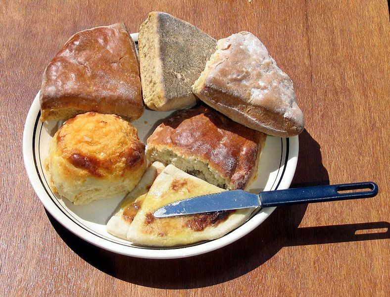 Cream Scones, with Optional Dried Fruit & Nuts | Cat's Kitchen